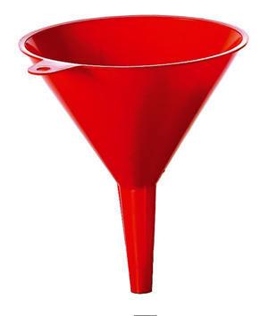 Tratt övre diameter: 100mm material: plast
