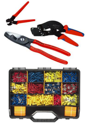 Kabelskor / Pressverktyg