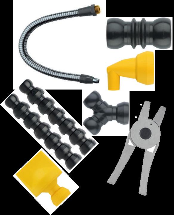 Komponenter / Pumpar / Kylmedelslangar