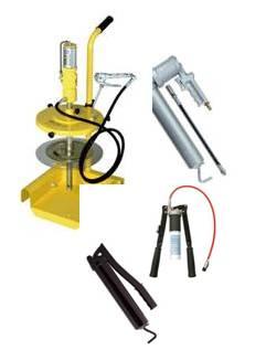 Fett / olje - sprutor - Pumpar