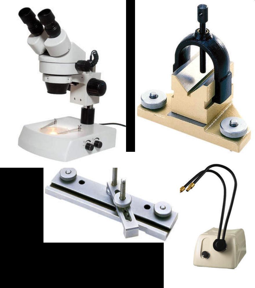 Ljuskällor / Förstoringslampa / Mikroskåp