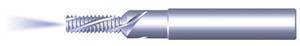 Gängfräs för metrisk ISO gänga inv/utv. gängning med invändig kylning